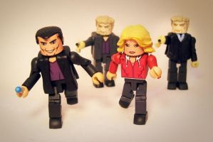 10th Doctor (Christopher Eccleston) set of 4 by luke314pi