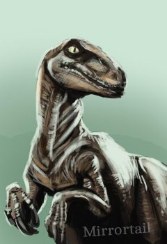 20ish Min Raptor by AoiKita