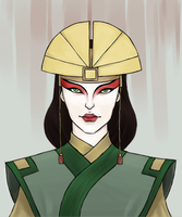 Avatar Kyoshi by InvaderLi