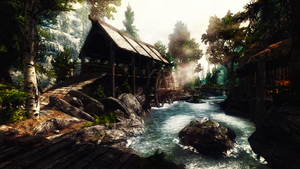 Riverwood Watermill by Creathor4005
