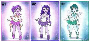 Senshi Adopt Set 1: ALIENS -CLOSED- by Toto-the-cat