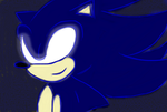 Dark Sonic by AquaAngel1010
