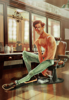 The Barber by ArtofFlo