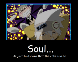 Soul Eater Demotivational poster by arisaxkureno