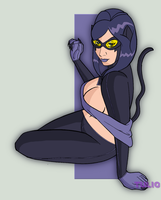 Catwoman LIX by TULIO19mx