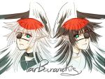 Twin Red-crowned Crane by LoRd-TaR