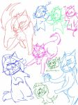 Sketches at 5 in the morning .u. by Ask2p-Ivypool