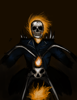 Ghost Rider by nicollearl