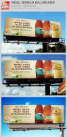 Real World Billboard Mockup Template by loswl