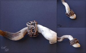 Copper ring by Atalia65