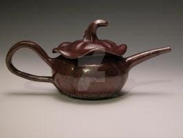 pumpkin teapot by jac12