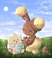Happy Easter by Nadou
