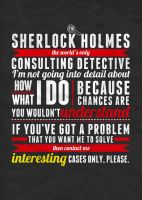 Sherlock: Interesting Cases Only! by vambrace