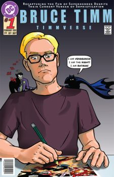 Bruce Timm by dkdelicious