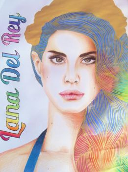 Lana Del Rey | The Paradise Edition by nafia-the-artiste