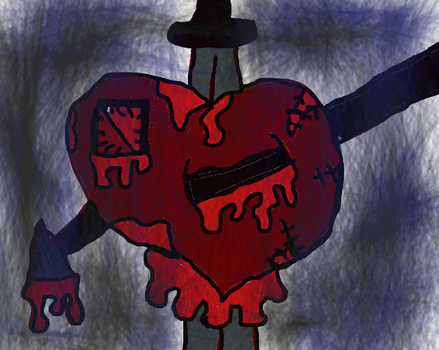 tortured heart by huggles111702