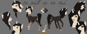 Dr Jekyll and Mr Hyde Reference Sheet by DLowell