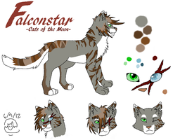 Falconstar Ref by MetalWolfGemstone