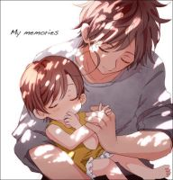 spain and baby romano by peacewolf4