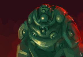 Green Fat Bot by Jeffufu