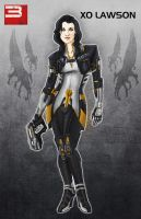Miranda Lawson MASS EFFECT 3 by Spi-ritual-ity
