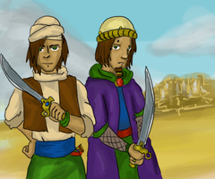 Brothers of the sands. by Zandozan
