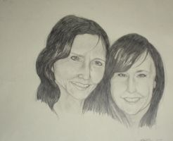 Mom and I by Nar-Amarth