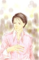 Man in Pink shirt by juonkung