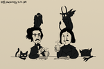 Gogol and Poe by JohnCheshirsky