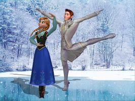 Ballet in the Snow by enterprisedavid