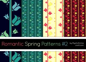 Romantic Spring Patterns #2 by MysticEmma