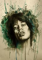 mick jagger by anorexic-bones