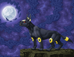 Umbreon - Pixel by Suora91