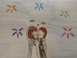 Lovely wedding by Supremechaos918