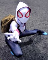 Spider Gwen Cosplay Wondercon 2015 by Joel111011