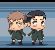 Chibi Cuties - JeanMarco by SizzleShorts