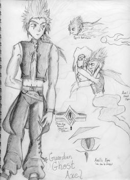 Guardian Ghost: Axel by DestinedOneofIce