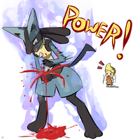 Emo Lucario by Eugeneration