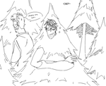 link neal hiding as a christmas tree in\sight by Bathsalt-Chama