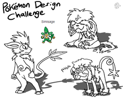 Pokemon Design Challenge - Simisage