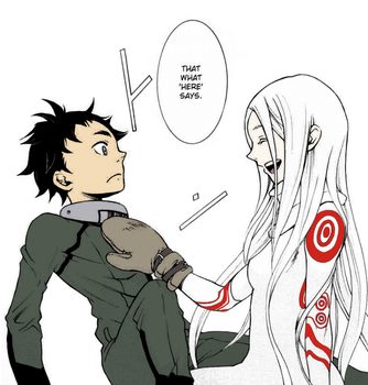 Shiro and Ganta (First Meeting) by iamjcat