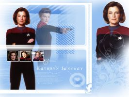 Captain Kathryn Janeway by Belanna42
