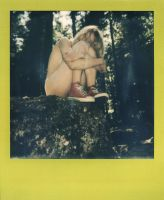 Pierrine in the forest - Polaroid 3 by Who-Is-Chill