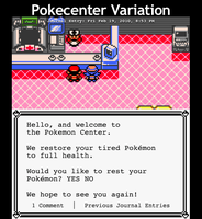 GSC Pokecenter by Pakaku