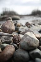 rocks of the shore by black-rose-red