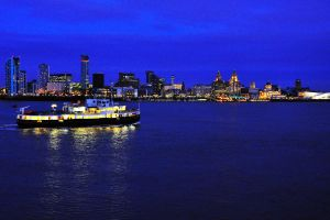 Ferry across the Mersey by DegsyJonesPhoto