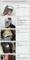 Cosplay tutorial - Helmet of Wow by kurerukreatis