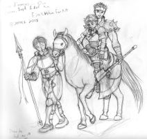 Fire Emblem 10: The 3 Brothers by supertimer