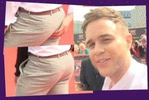 X Factor Olly Murs Bum by englishxmuffin