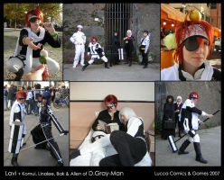 Cosplay: Lavi - D.Gray-Man by Riunien